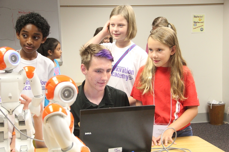 St. Vrain students at IBM's summer Innovation Academy