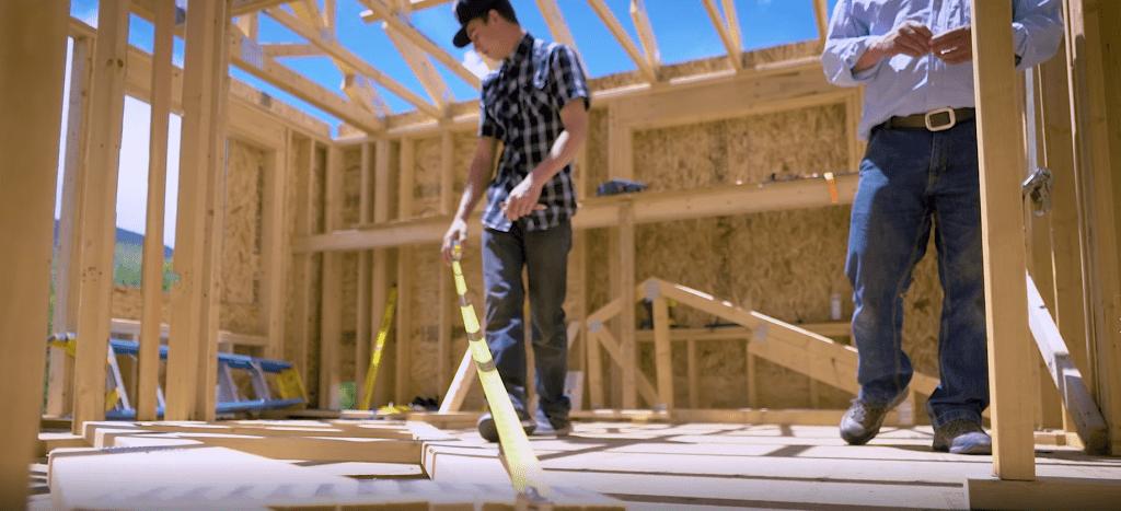 Salida student participates in a building trades apprenticeship program