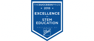 The Succeeds Prize STEM Award banner