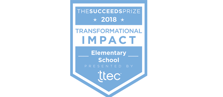 Transformational Impact in an Elementary School award blog banner